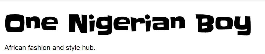 top 10 fashion blogs nigeria