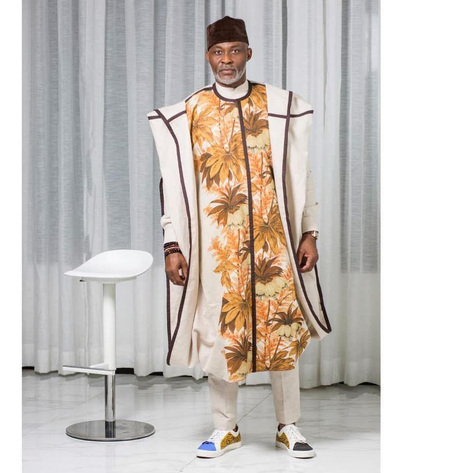 Men Agbada style