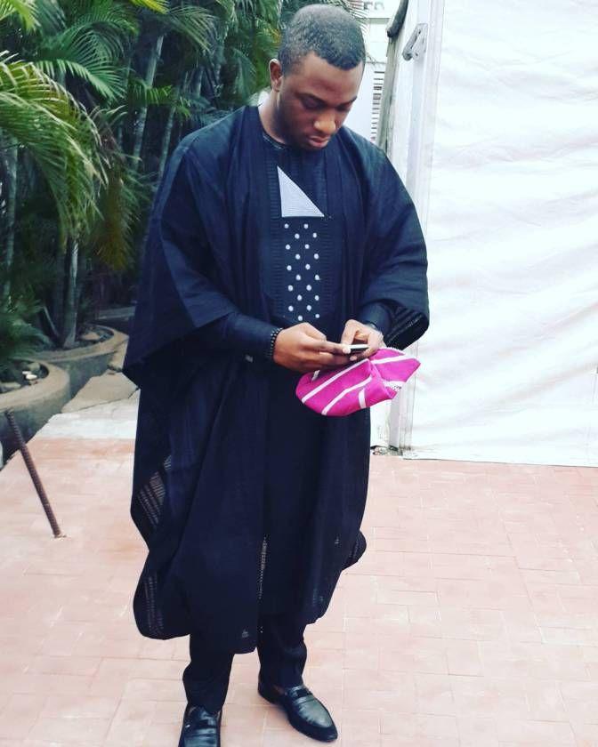 Nigeria Agbada outfit