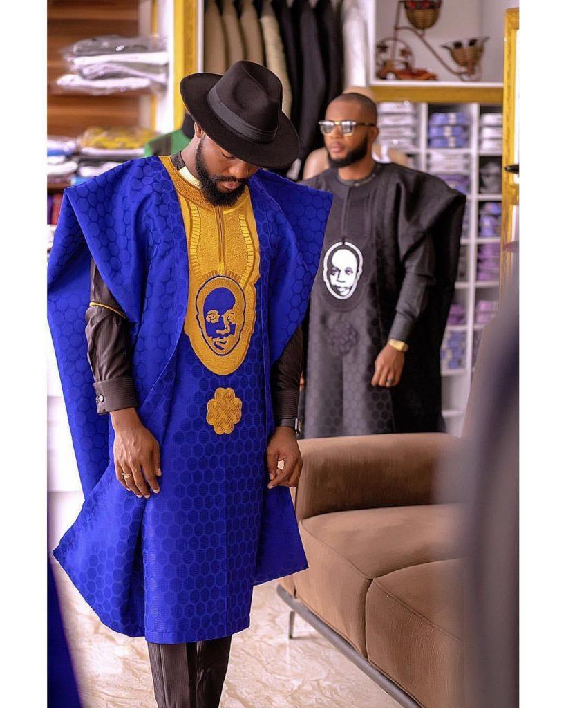Men's Latest Agbada style