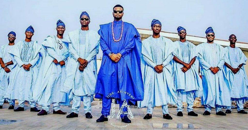 Agbada gang style