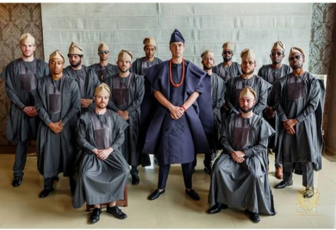 latest Agbada gang style