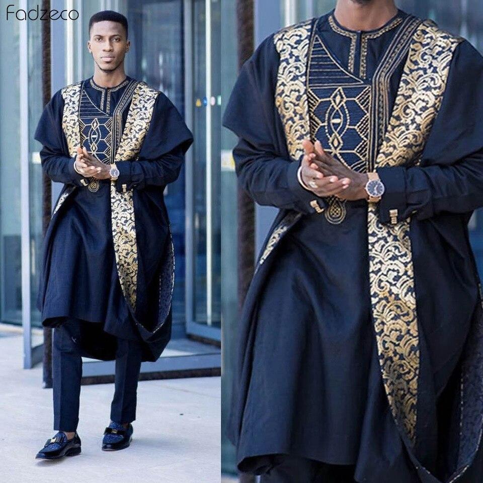latest agbada styles for groom