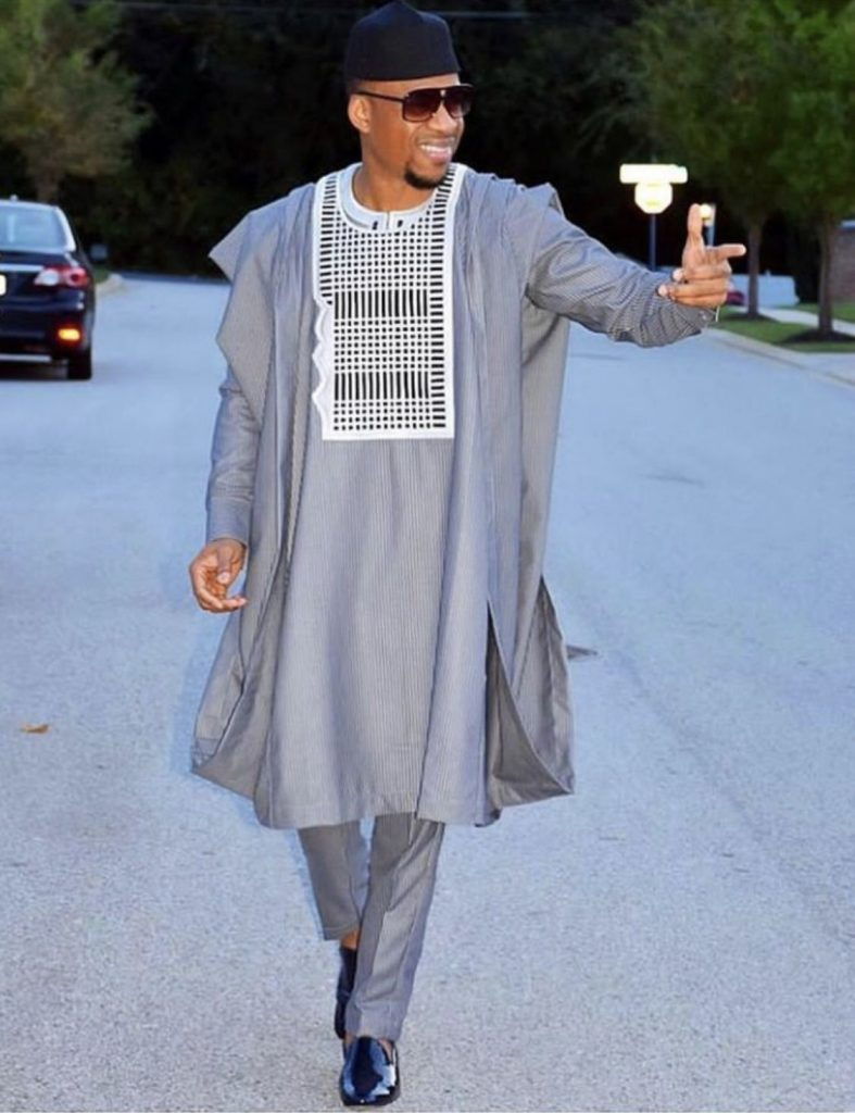 Agbada with swag