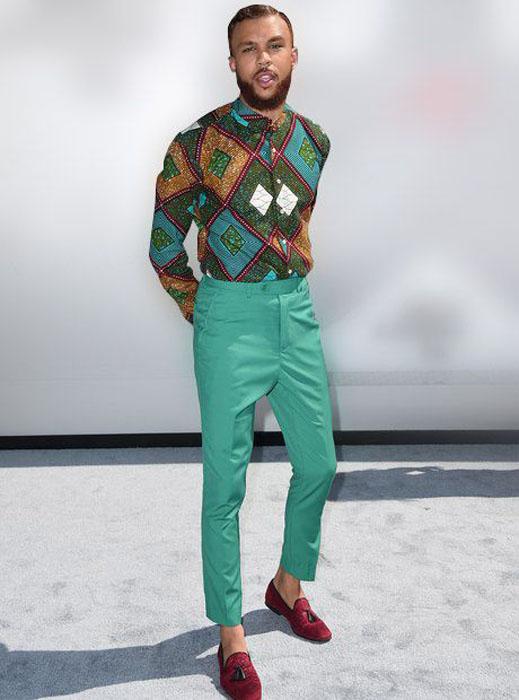 oyinbo Ankara Shirt Styles for Guys