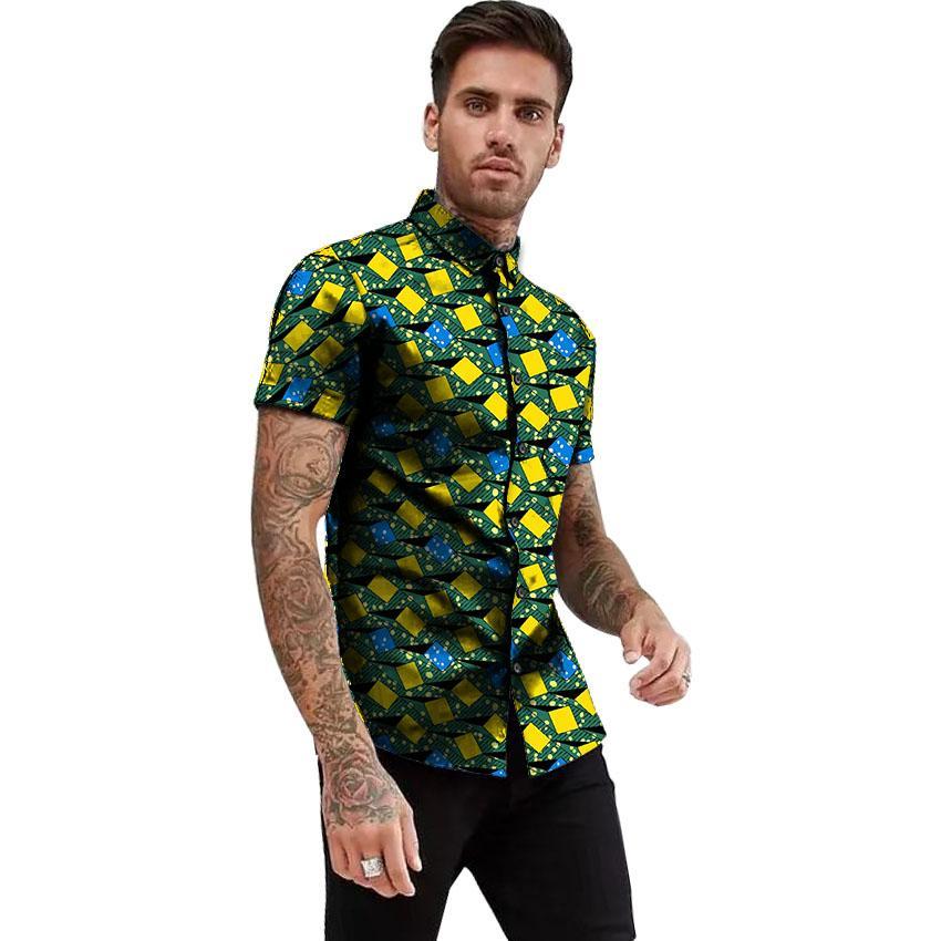 Ankara Shirt Styles for Guys