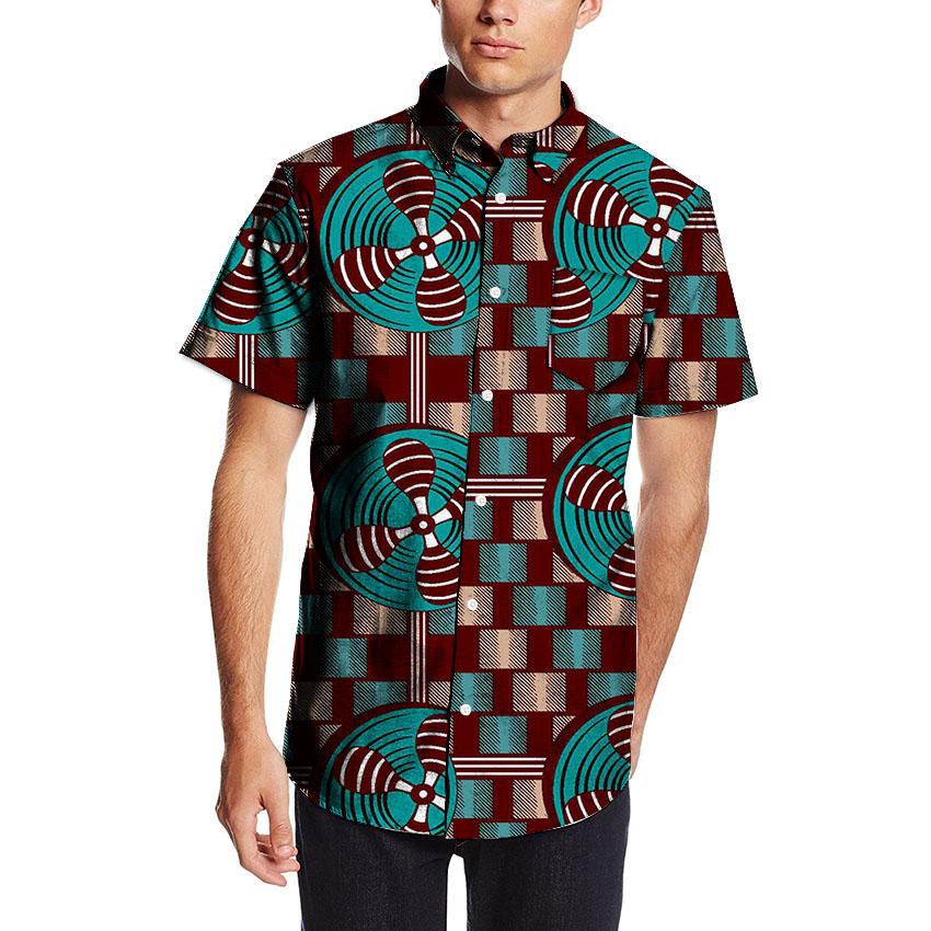 Ankara Shirt for white Guys