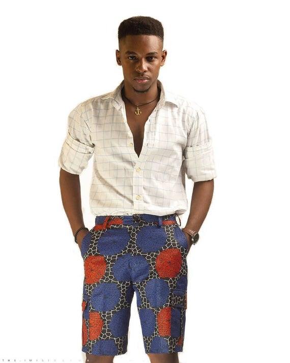short Ankara Shirt Styles for Guys