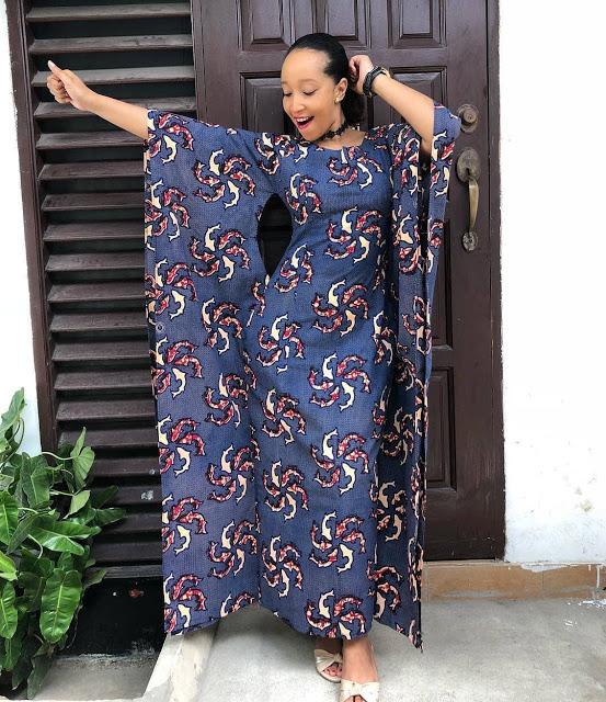 stylish ankara gown style