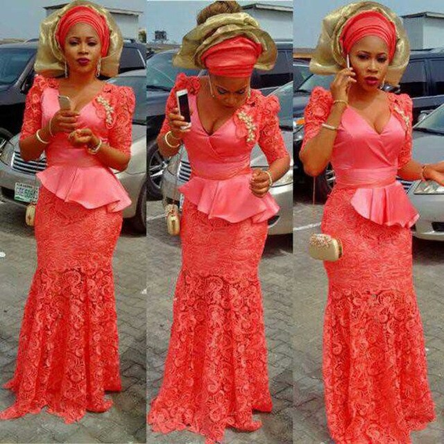 gown styles in nigeria