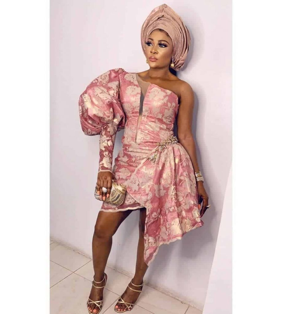 Lace Short Gown Designs