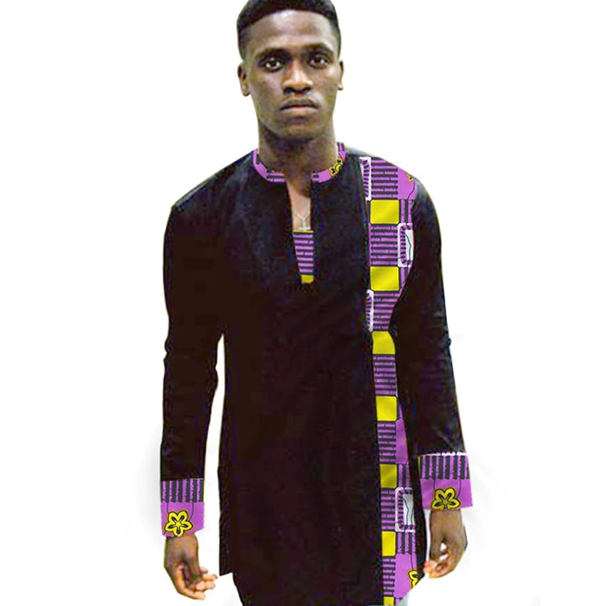 plain and pattern ankara styles for male