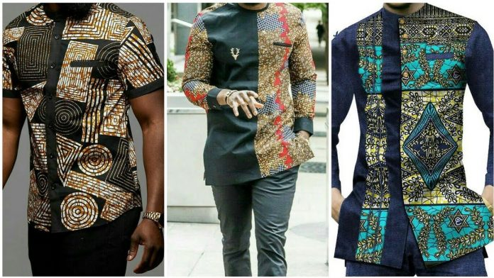 Latest plain and pattern ankara styles for male