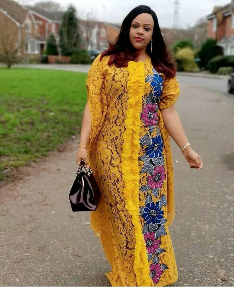 latest caftan style for ladies