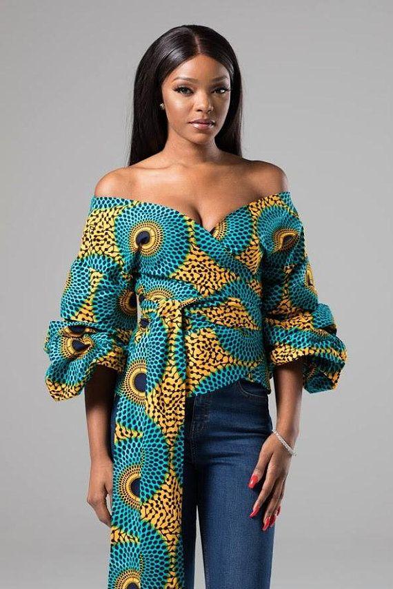 ankara top for women