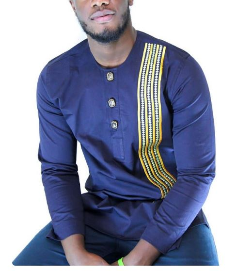 Latest Embroidery styles for men