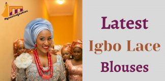 Latest Igbo Lace Blouses