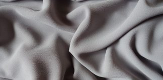 the crepe fabric