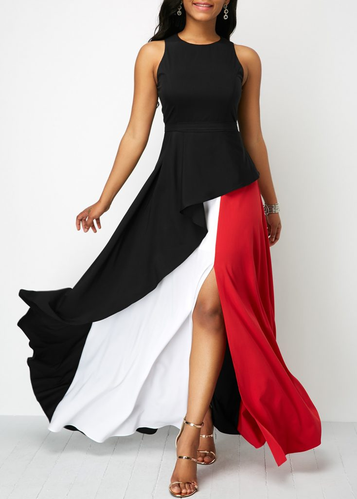 crepe gown dress