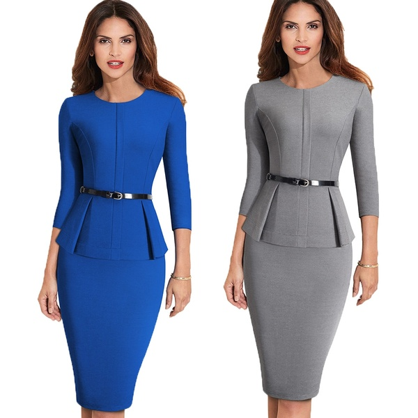 office  gown dress