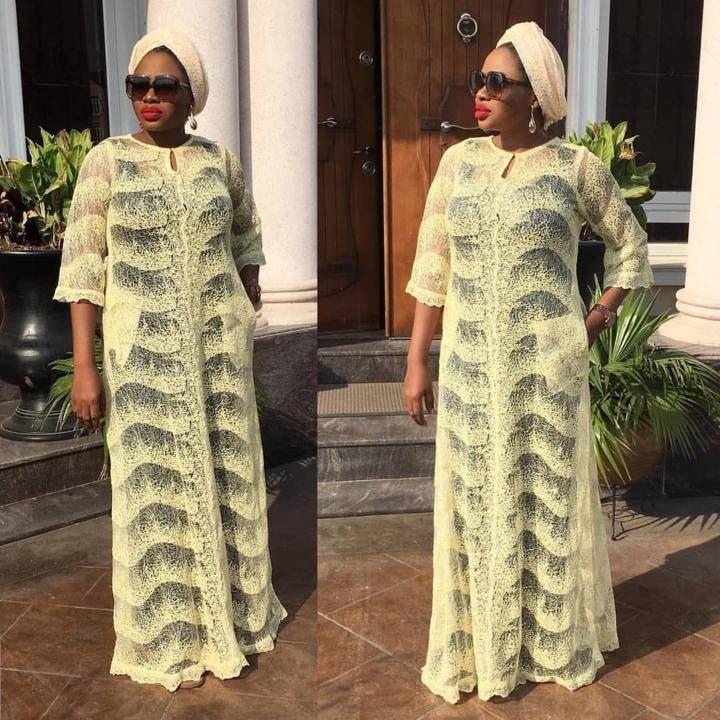 latest Lace caftan Style 2020