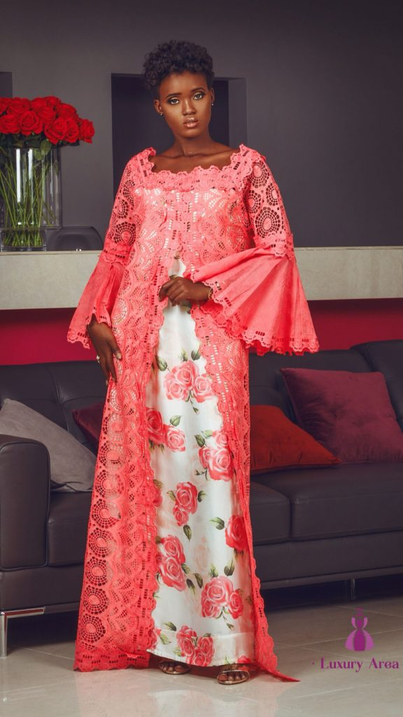 latest short Lace caftan Style 2020