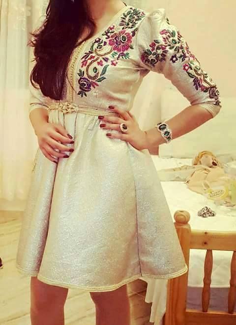 short Dry Lace Kaftan Styles 2020