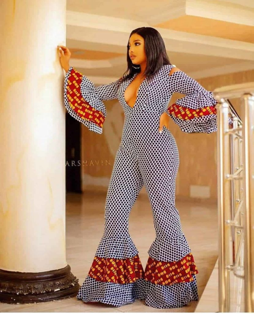 nigerian jumpsuit styles