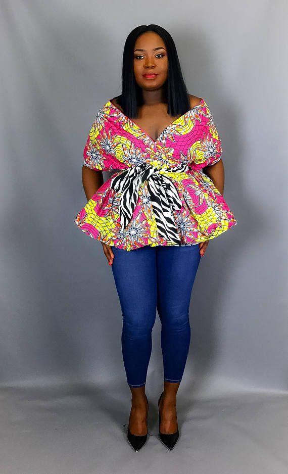 Latest  wrap blouse