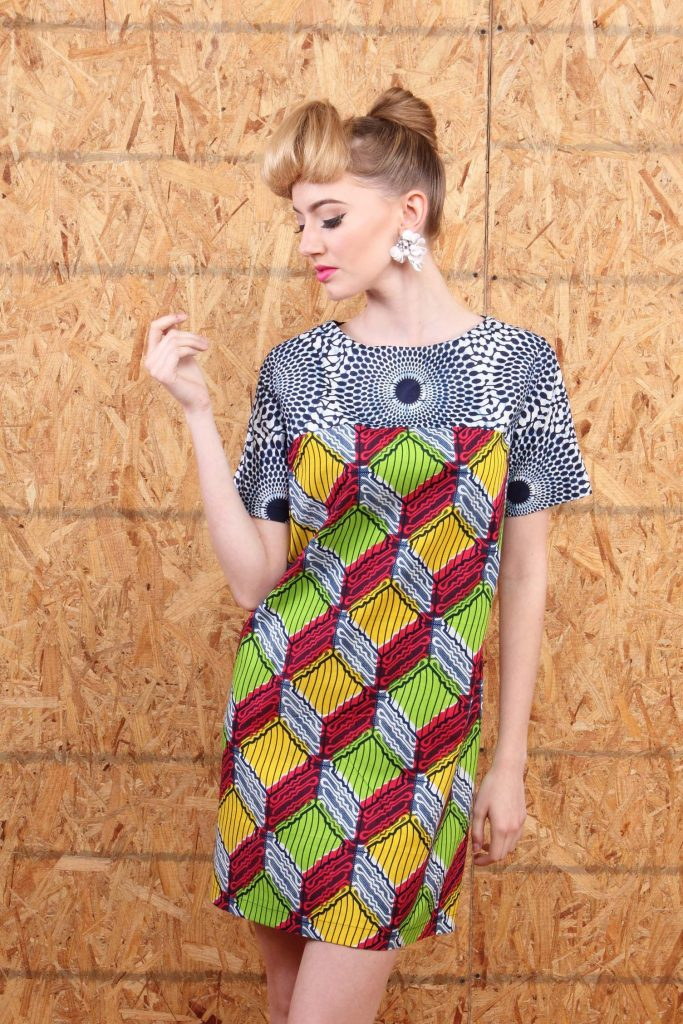 Ankara Tunic Dress For Ladies In 2020