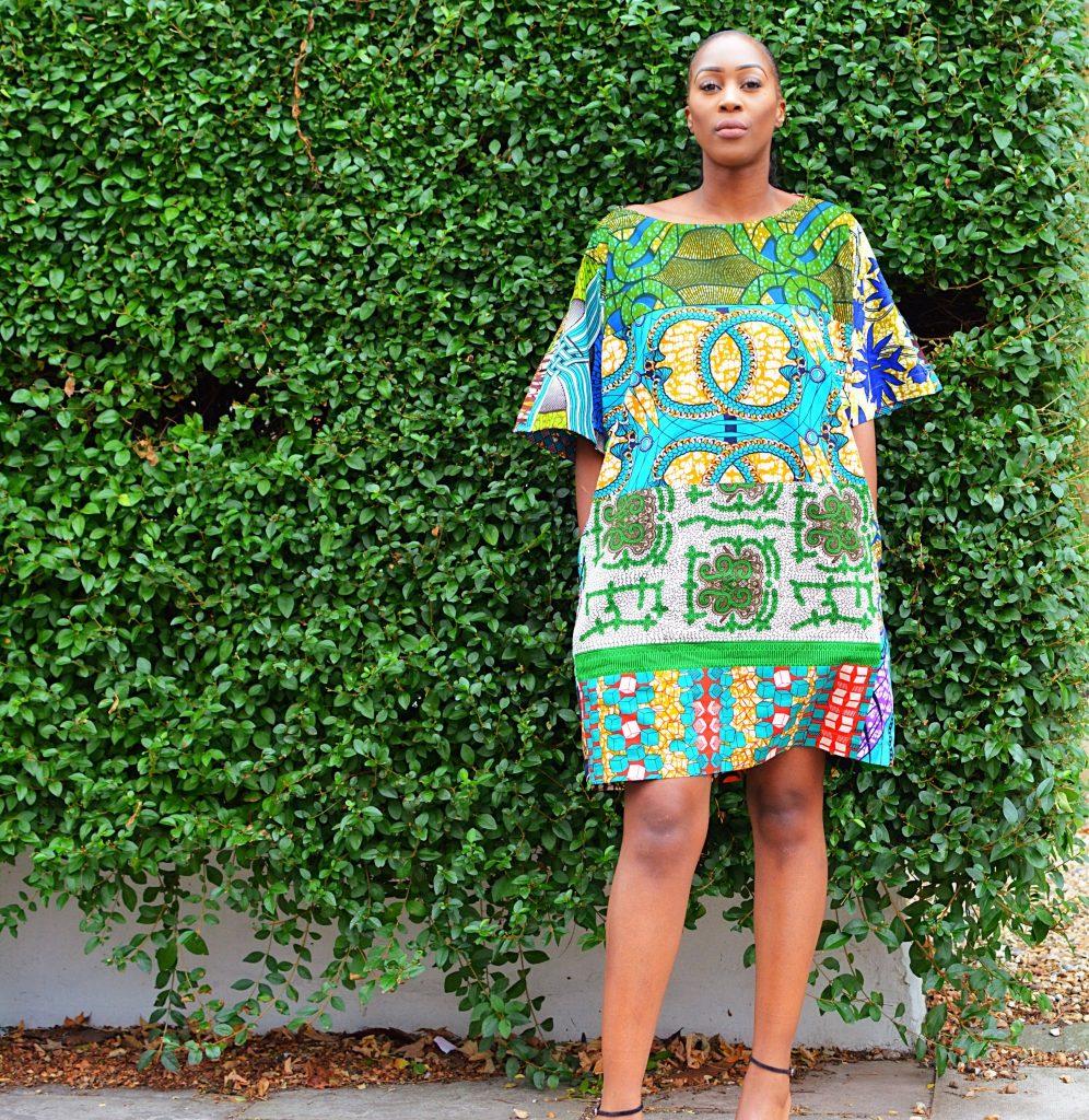 Stylish tunic dress for ladies