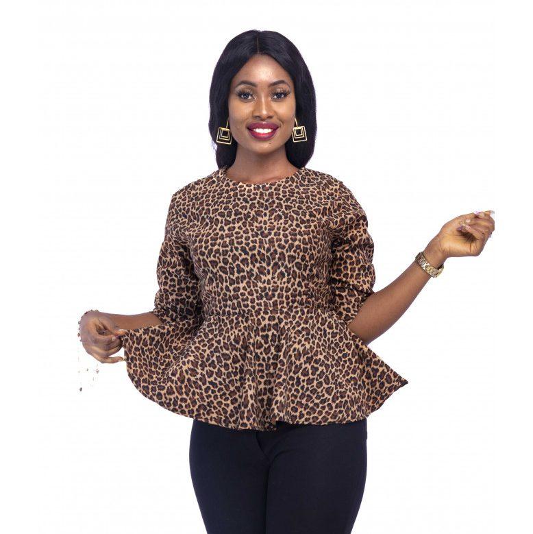 peplum blouse for ladies