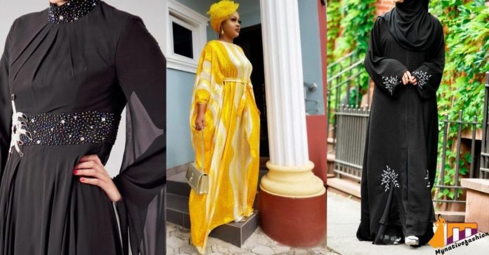 Latest Abaya style pictures