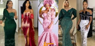 Latest Aso Ebi Styles For Ladies