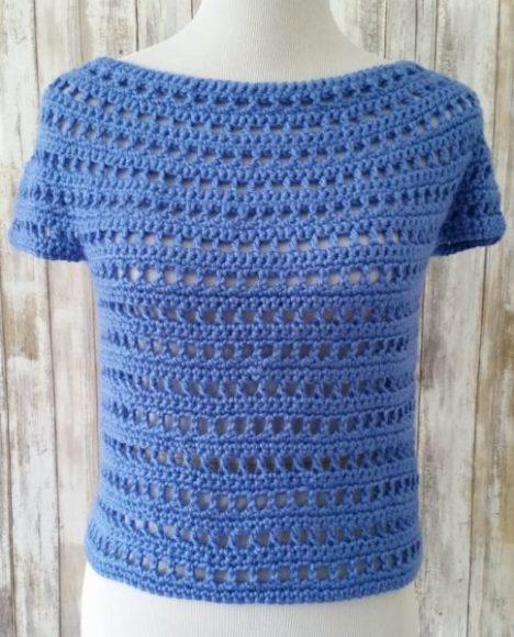 Crochet lace fabric