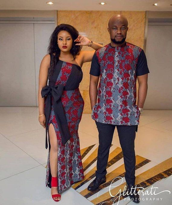 Couple ankara styles
