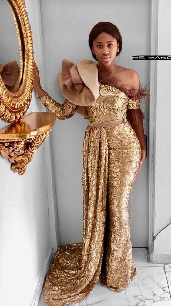 nigerian lace styles dress
