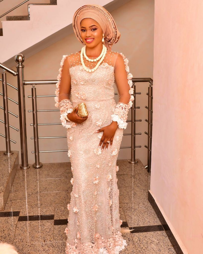 nigerian lace styles dress