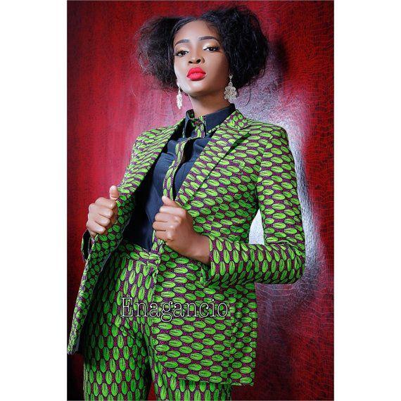 Latest ankara suit for ladies
