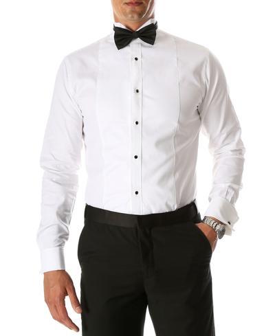 tux vs suit shirt