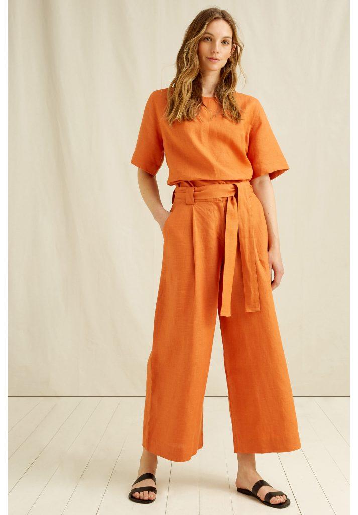 Ladies linen pants