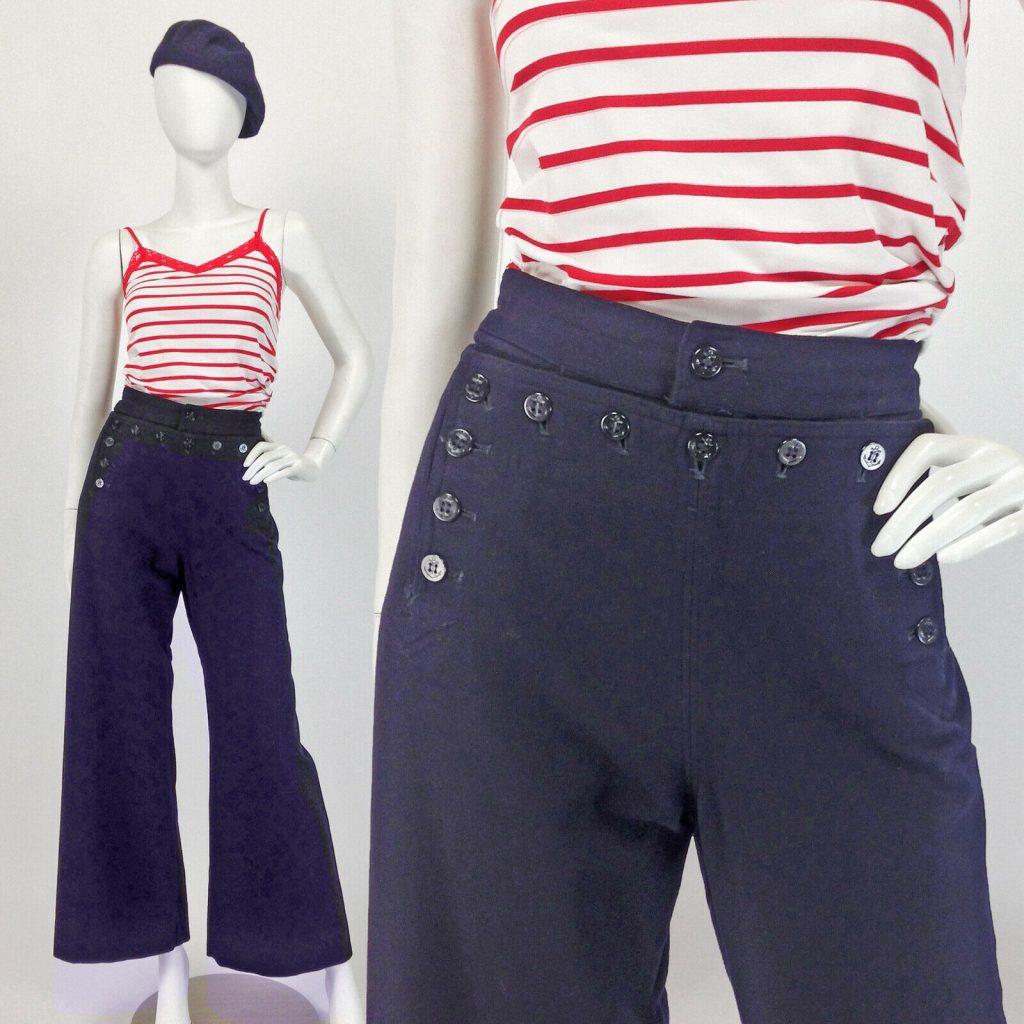 Ladies sailor pant