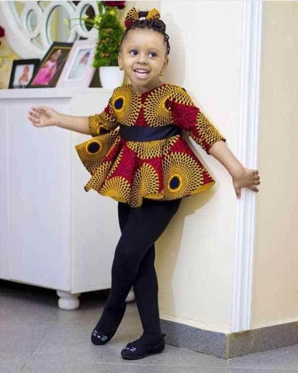 ankara styles for kids