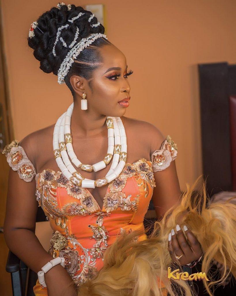 Latest Igbo blouse