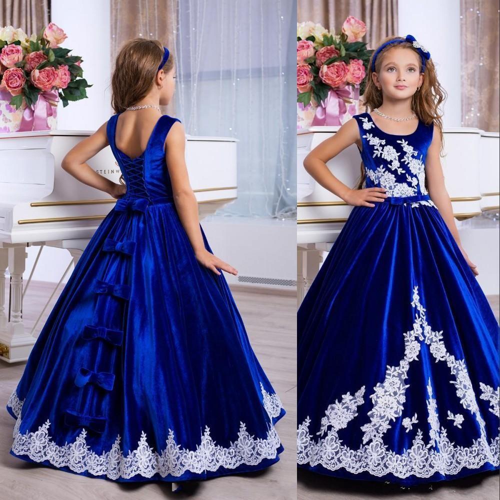 childrens designer gown