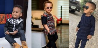 Kaftan Styles For Kids