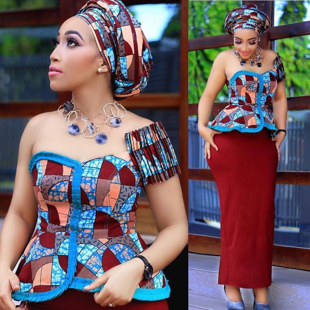 Ankara styles for women
