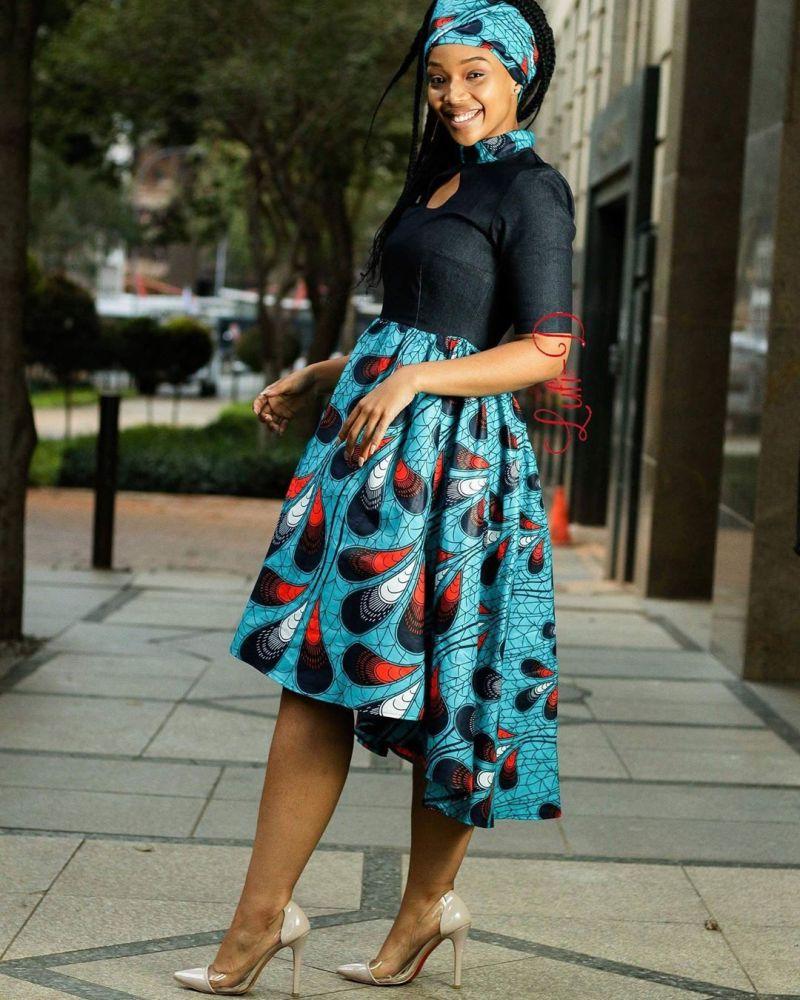ankara gown styles in nigeria