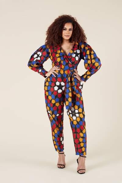 latest ankara jumpsuit