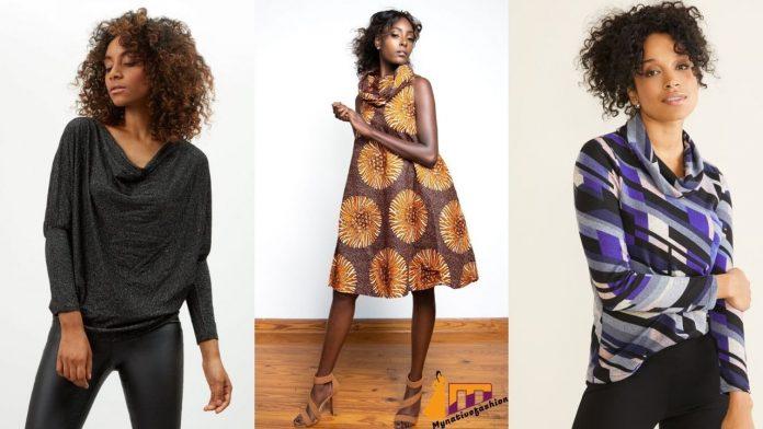 cowl neck dresses